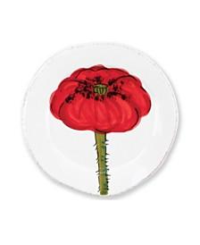 Vietri Lastra Poppy Canape Plate