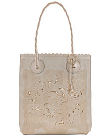 Patricia Nash Cavo Waxed Leather Tote