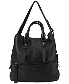 T Tahari Parker Leather Tote