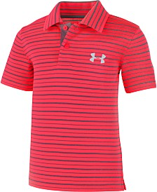 239faa0a31f0 Under Armour Little Boys Champion Stripe Polo