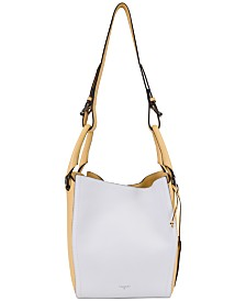 T Tahari Jordan Convertible Bucket Bag