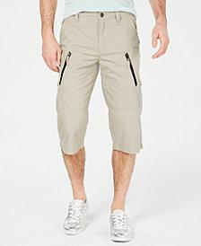 "I.N.C. Men's 18"" Michael Messenger Shorts, Created for Macy's"