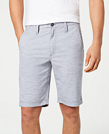 "INC Men's 10"" Derryl Chambray Shorts, Created for Macy's"
