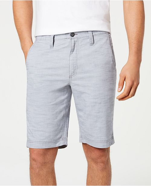 """INC International Concepts INC Men's 10"""" Derryl Chambray Shorts, Created for Macy's"""
