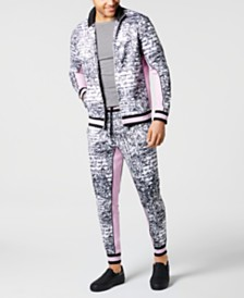 I.N.C. Men's Paradise Track Jacket, Created for Macy's