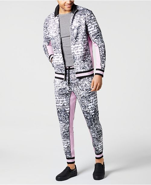 INC International Concepts I.N.C. Men's Paradise Track Jacket, Created for Macy's