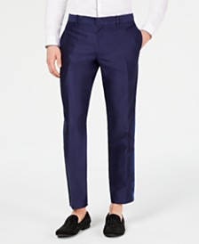 I.N.C. Men's Slim-Fit Jacquard Pants, Created for Macy's