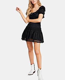 Free People Cruel Intentions Mini Dress