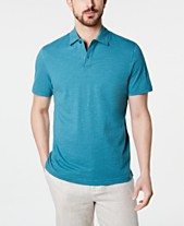 70b0d856 Tasso Elba Men's Slub Polo, Created for Macy's