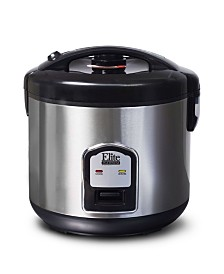 Elite Platinum Stainless Steel 20 cup Rice Cooker