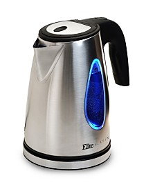 Elite Platinum Stainless Steel 1.7L Cordless Kettle