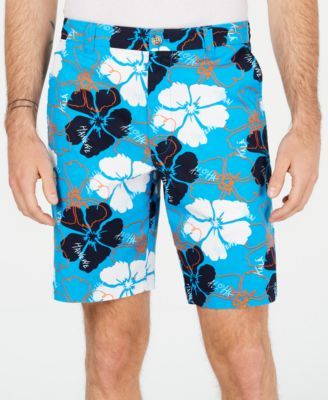 "Men's Delancy Floral 9"" Shorts, Created for Macy's"