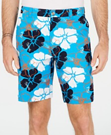 "Club Room Men's Delancy Floral 9"" Shorts, Created for Macy's"