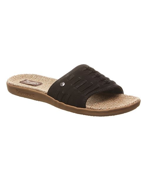 e4f3c0dde9cc BEARPAW Women s Cedar Flat Sandals  BEARPAW Women s Cedar Flat Sandals ...