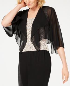 Image of Alex Evenings Chiffon Cover Up