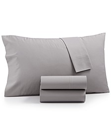 CLOSEOUT! Cotton Blend 3-Pc. Twin Sheet Set, Created for Macy's