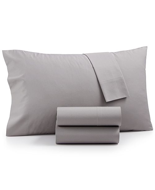 Martha Stewart Collection CLOSEOUT! Cotton Blend 4-Pc. King Sheet Set, Created for Macy's