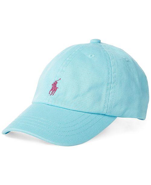Polo Ralph Lauren Baby Boys Cotton Chino Baseball Cap - All Kids ... 0fe8e5c1853