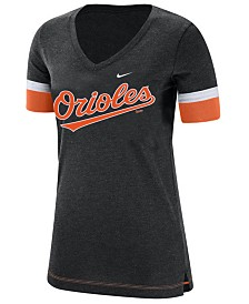Nike Women's Baltimore Orioles Tri-Blend Fan T-Shirt