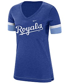 Nike Women's Kansas City Royals Tri-Blend Fan T-Shirt