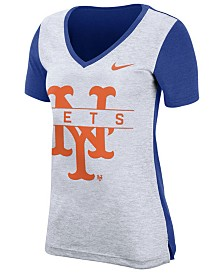 Nike Women's New York Mets Dri-FIT Touch T-Shirt
