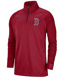 Nike Men's Boston Red Sox Dry Game Elite Quarter-Zip Pullover