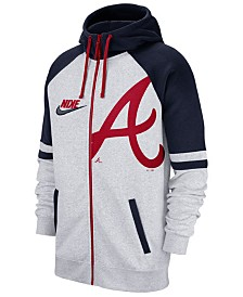 Nike Men's Atlanta Braves Walkoff Full-Zip Hoodie