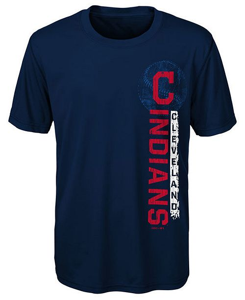 Outerstuff Little Boys Cleveland Indians Game Grit T-Shirt