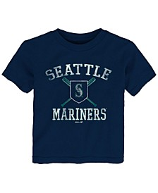 Toddlers Seattle Mariners Crossed Bats T-Shirt