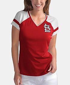 d20cb58f St. Louis Cardinals Sport Fan T-Shirts, Tank Tops, Jerseys For Women ...