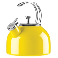 kate spade new york Nolita Yellow Tea Kettle