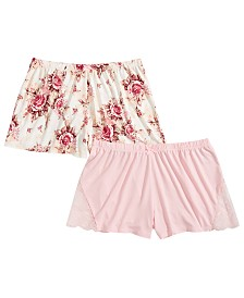 Flora by Flora Nikrooz 2-Pk. Sleep Shorts