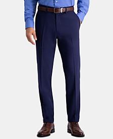 Men's Active Series Herringbone Slim-Fit Suit Separate Pants