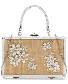 Wicker Lamezia Box Bag