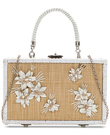 Patricia Nash Wicker Lamezia Box Bag