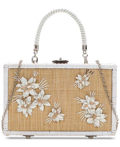 Patricia Nash Wicker Lamezia Box Bag