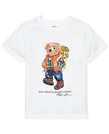 Polo Ralph Lauren Toddler Boys Camping Bear Cotton T-Shirt