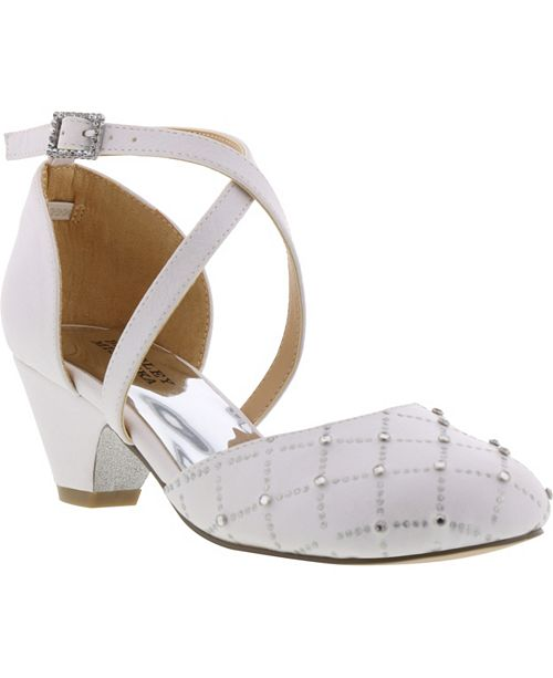 Badgley Mischka Little & Big Girls Halo Dorsay Dress Heel