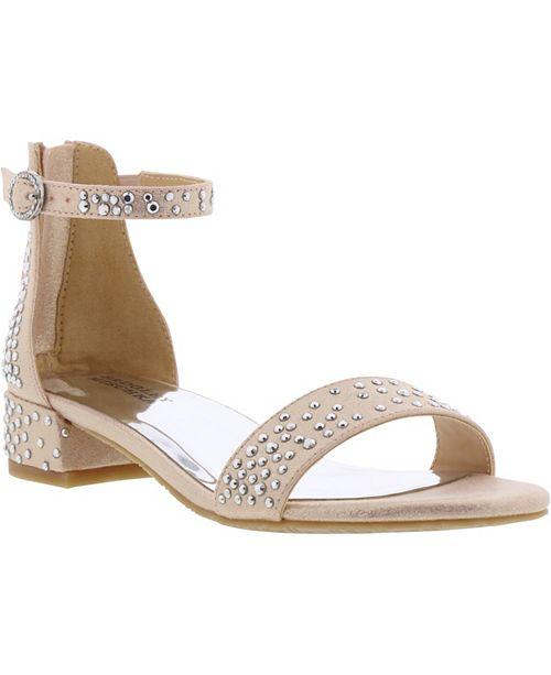 Badgley Mischka Little & Big Girls Penny Sparkles Dress Sandal