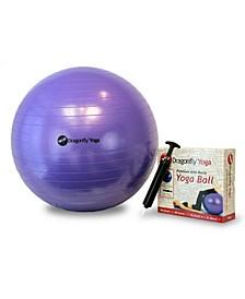 Dragonfly Yoga 55cm Yoga Ball