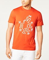 e4ad59c91e9 Lacoste x Keith Haring Men's Printed Jersey T-Shirt
