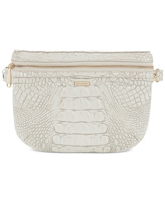1cc6afbe177 Brahmin Convertible Melbourne Embossed Leather Belt Bag ...