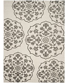 """Cottage Cream and Gray 8' x 11'2"""" Area Rug"""