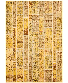 "Safavieh Monaco Yellow and Multi 6'7"" x 9'2"" Area Rug"
