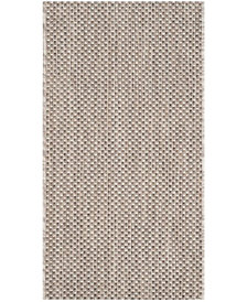 "Safavieh Courtyard Beige and Brown 2' x 3'7"" Sisal Weave Area Rug"