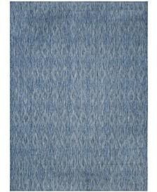 Courtyard Navy 9' x 12' Sisal Weave Area Rug