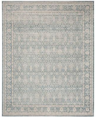 Archive Blue And Grey Area Rug Collection