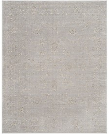 Safavieh Carnegie Light Gray and Cream 8' x 10' Area Rug
