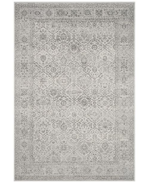"Safavieh Carnegie Light Gray and Gray 6'7"" x 9'2"" Area Rug"