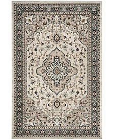 Lyndhurst Cream and Beige 9' x 12' Area Rug